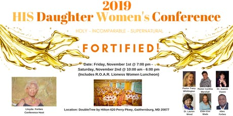 """""""Fortified!"""" H.I.S. Daughter Women's Conference 2019 tickets"""