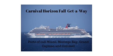 Carnival Horizon Fall Get-A-Way tickets