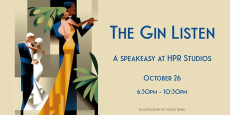 The Gin Listen Speakeasy tickets