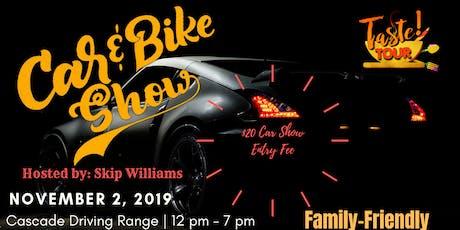 Taste Tour Car & Bike Show November tickets