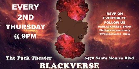 BlackVerse Comedy Show tickets