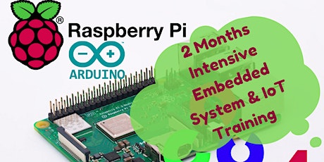 INTENSIVE EMBEDDED SYSTEMS AND IoT TRAINING tickets