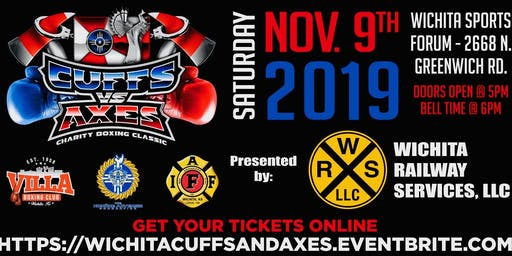 Wichita Cuffs vs. Axes Charity Boxing Classic