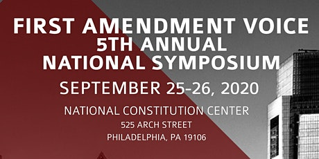 5th Annual First Amendment Voice National Symposium tickets