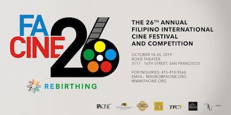FACINE26 – Festival Passes (6-Film or Full Festival Pass) tickets