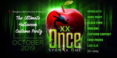 "2019 Dragons Halloween Ball ""Once Upon A Time"" 20t"