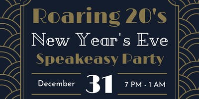Roaring 20's New Year's Eve Speakeasy Party
