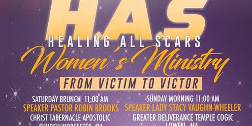 Healing All Scars Domestic Violence Brunch