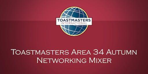 Toastmasters Area 34 Autumn Networking Mixer