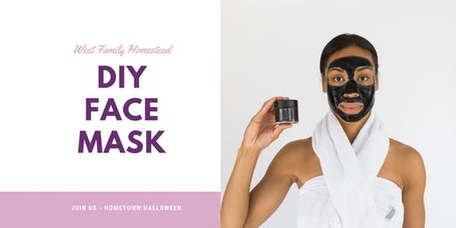 Make and Take DIY Face Mask - Tonasket Hometown Halloween