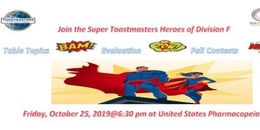 D36 Division F Toastmasters Fall Contests - Evaluation & Table Topics