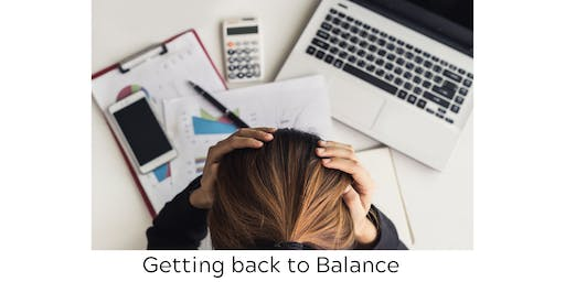 REGINA- Stress Management Course- Getting back to Balance