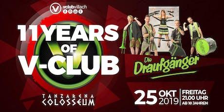 Die Draufgänger Live im V-Club Villach Tickets