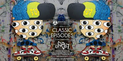 """""""Classic Episodes"""" a Solo Exhibition by UFO907"""