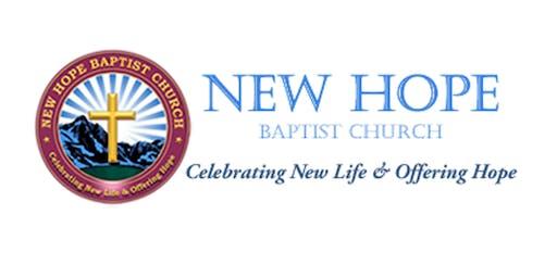 New Hope Baptist Church Fall Revival