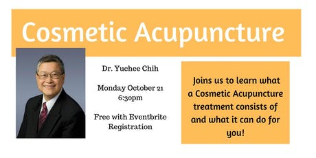 Cosmetic Acupuncture. What is it and what can it do for me? tickets