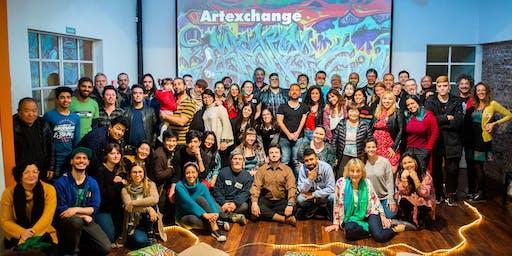 51° Artexchange - Festejando el fin de año.