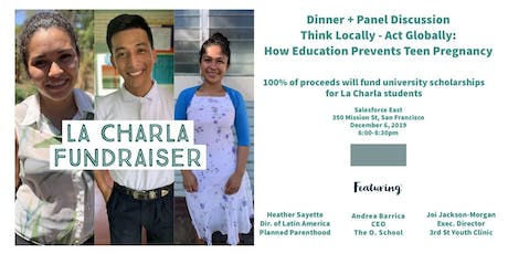 La Charla Fundraiser and Panel Discussion tickets