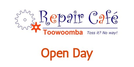 Repair Cafe Toowoomba  - Open Day tickets