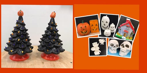 "Adult Open Paint (18yrs+)  ""Fall Designs Ceramics"""