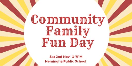 FREE Community Family Fun Day