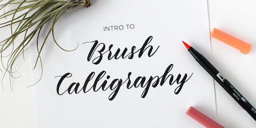 Intro to Brush Calligraphy