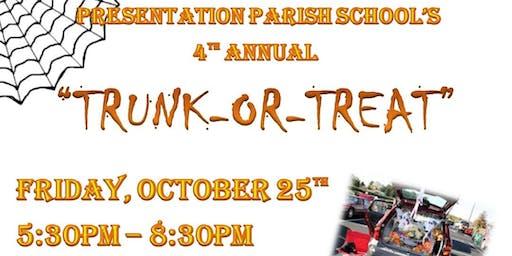 Presentation Parish School's 4th Annual Trunk-or-Treat