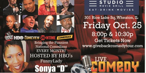 SMG MOVIE THEATER - LIVE COMEDY @ THE MOVIES