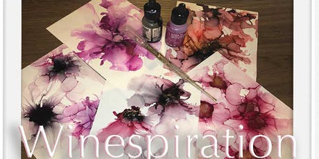 Winespiration - Come and Try Alcohol Inks tickets