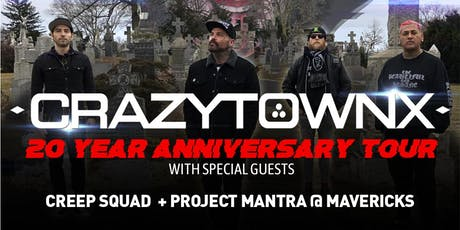 Crazy Town (20th Anniversary show) tickets