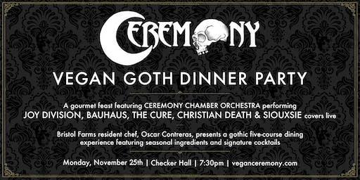 Vegan Goth Dinner Party - 2nd Night Added! @ Lodge Room Highland Park