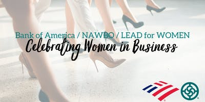 Bank of America | NAWBO San Diego | LEAD for WOMEN - Celebrating Women in Business Event
