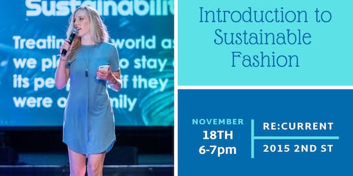 Introduction to Sustainable Fashion