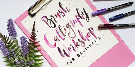 Brush Calligraphy for Beginners tickets