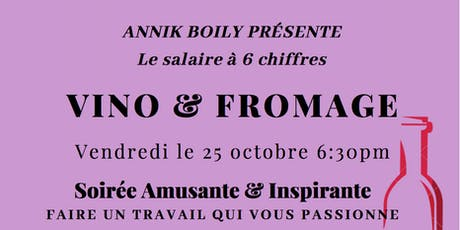 Soirée Vin & Fromage tickets