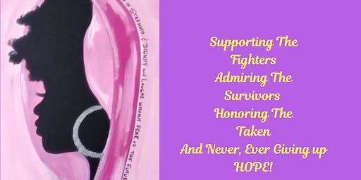 Sip N Paint Against Cancer
