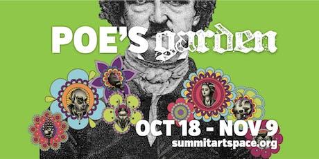 Poe's Garden Literary Artist Panel Discussion tickets