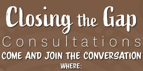 Closing the Gap Consultations: Albury tickets