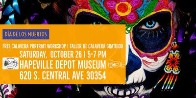 Calavera Portrait and Mask-Making Workshop