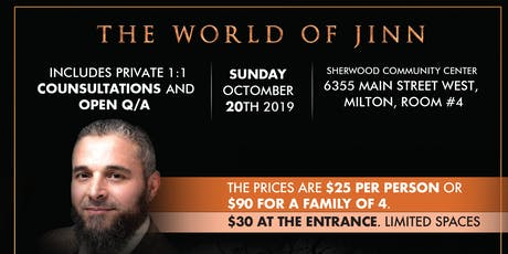 World of Jinn tickets