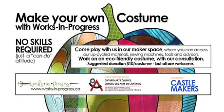 Costume Making Workshop with Works-in-Progress tickets