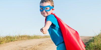 Mommy & Son Super Hero Bash