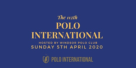 112th Polo International - Australia vs England #purepolo tickets
