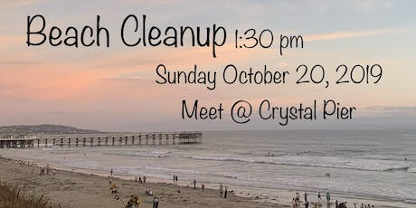 Pacific Beach to Mission Beach Clean Up tickets