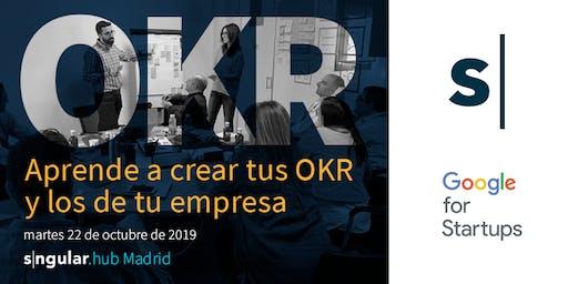 Taller: aprende a crear tus OKR y los de tu empresa