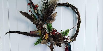 Forage And Make Dried Christmas Wreath Workshop