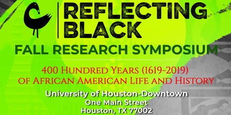 Reflecting Black Fall Research Symposium tickets
