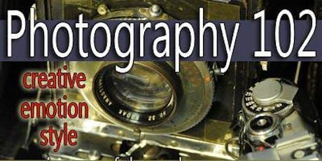Photo 102: Creative Photography (MW evening option) tickets
