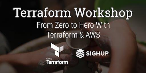 Terraform Advanced Workshop: From Zero to Hero With Terraform & AWS