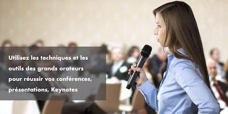 Formation Prise de parole Dirigeants Paris billets